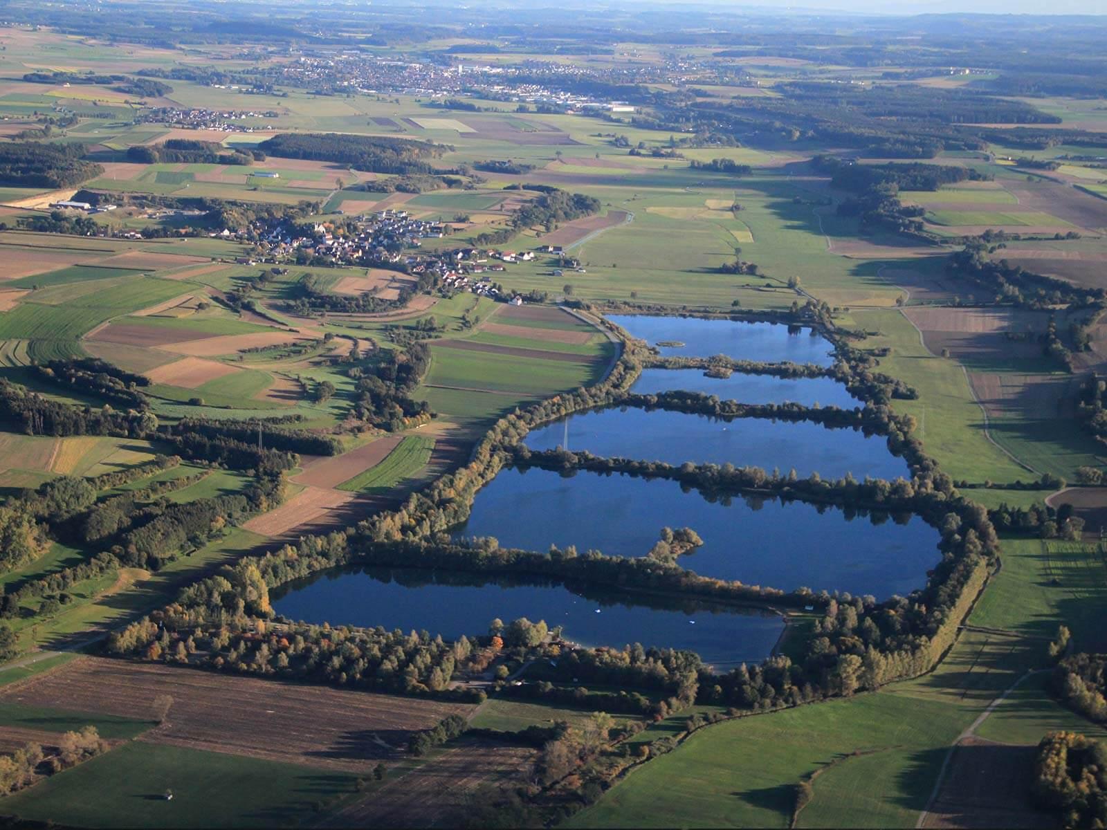 Die Seen in Herbertingen