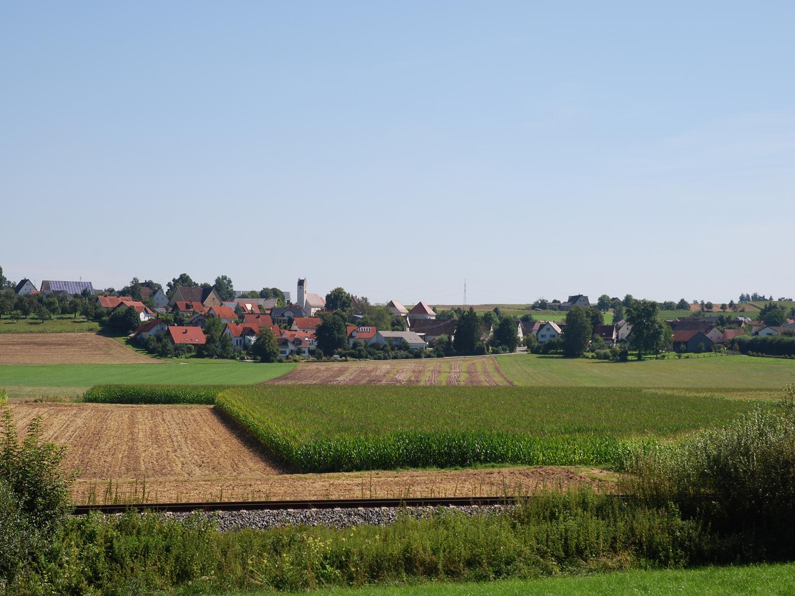 Ortsansicht von Mieterkingen