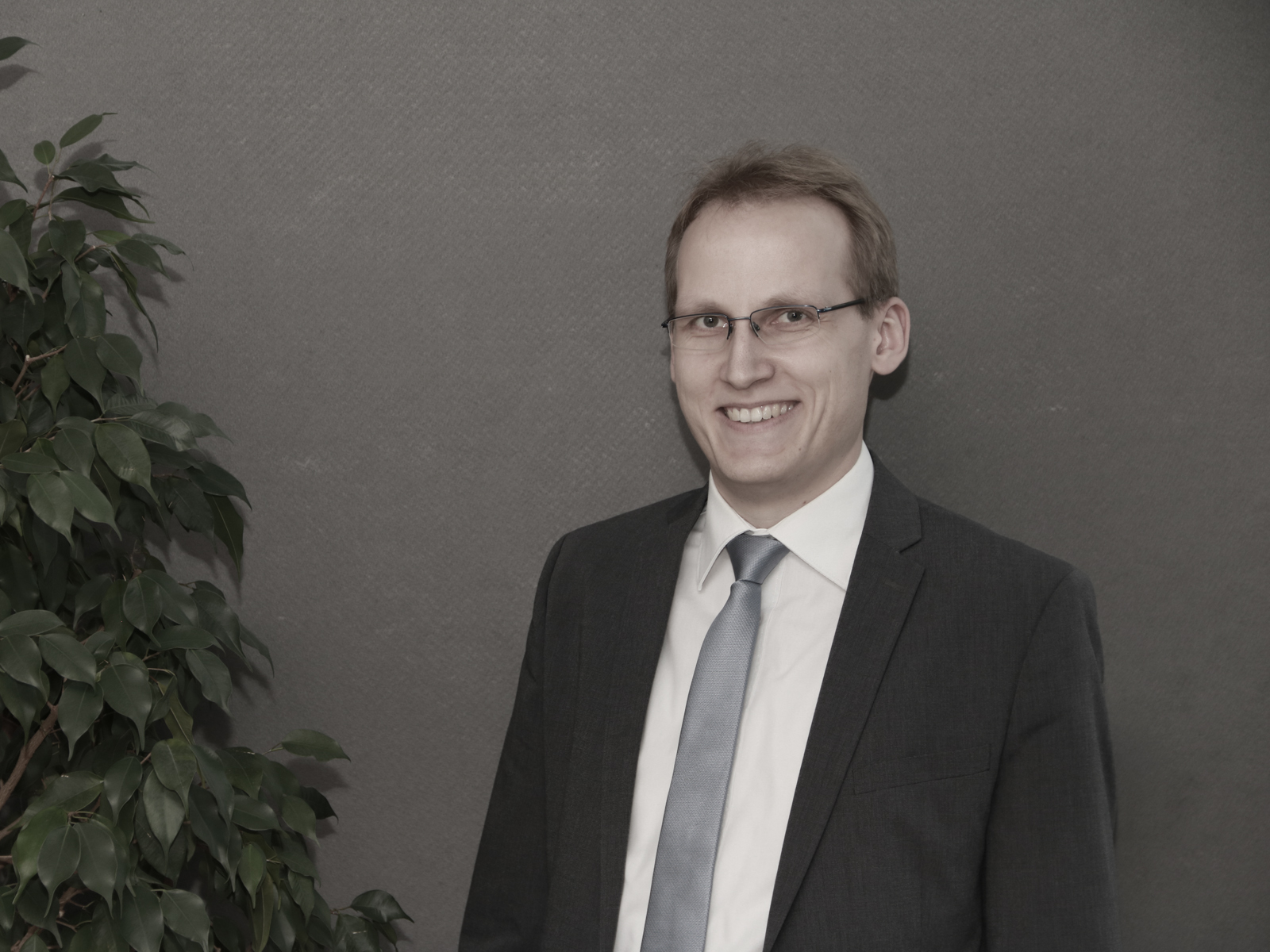 Porträt Bürgermeister Magnus Hoppe