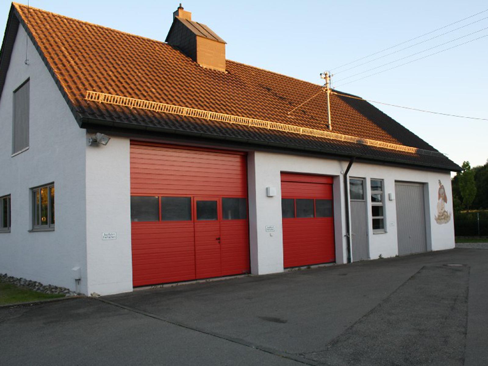 Abbildung des Feuerwehrhaus Marbach