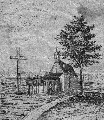 Zeichnung der Riedkapelle