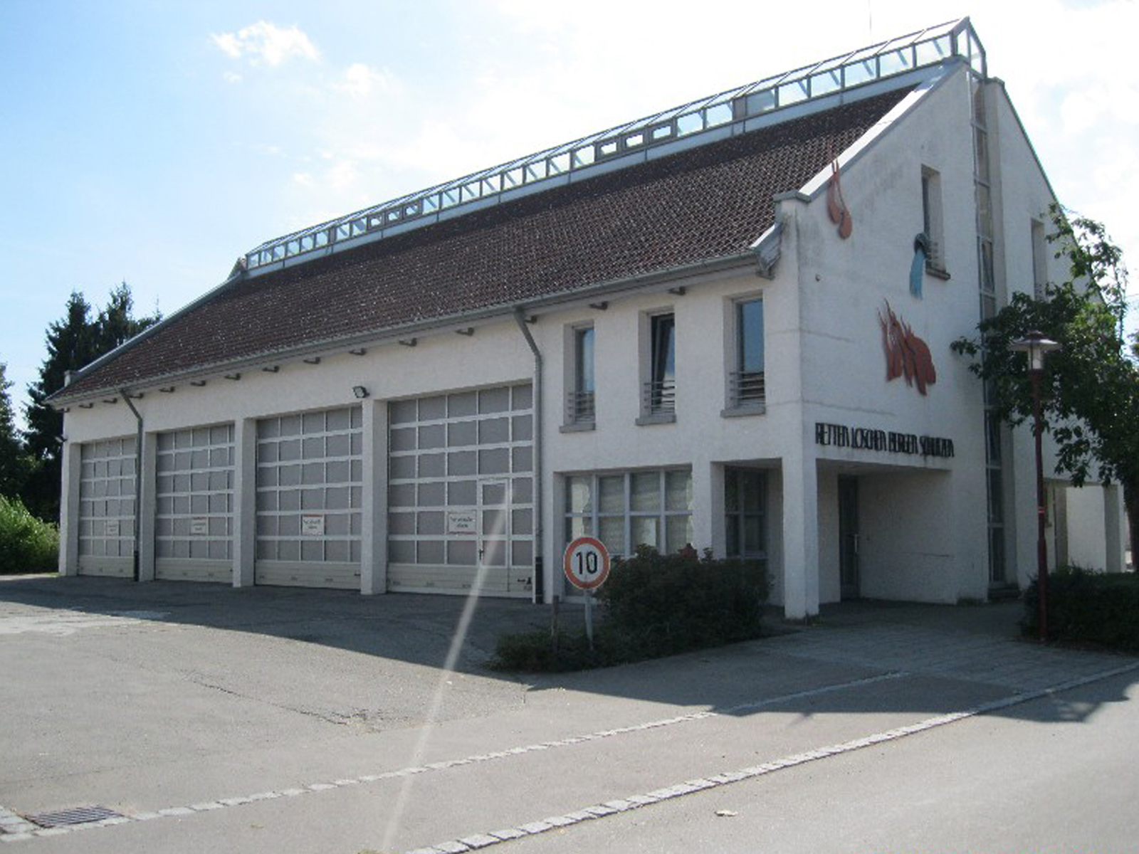 Abbildung des Feuerwehrhaus Herbertingen
