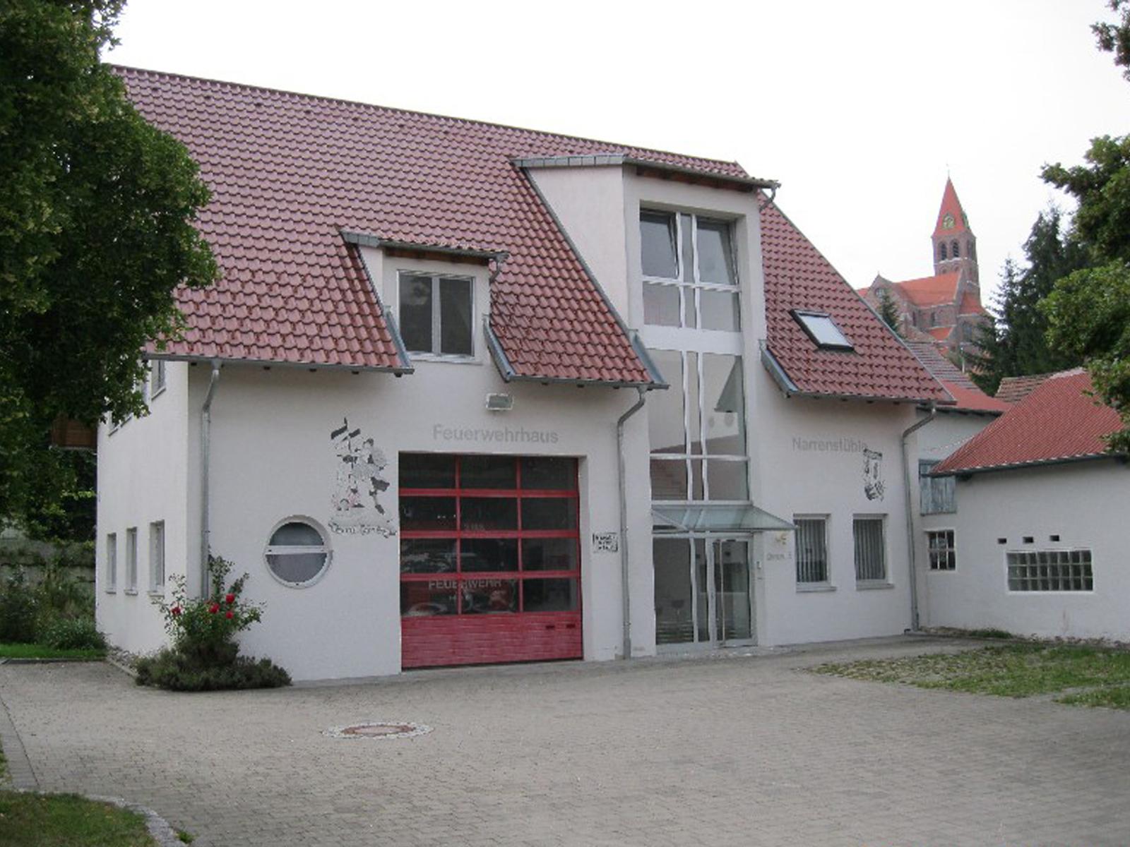 Abbildung des Feuerwehrhaus Hundersingen