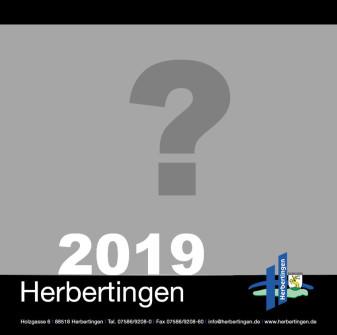 Fotokalender Fragezeichen Deckblatt 2019