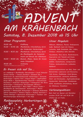2018 Plakat Adventsmarkt