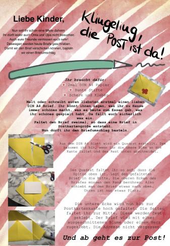 Kindergarten-Tipp vom 03.04.2020, Die Post ist da