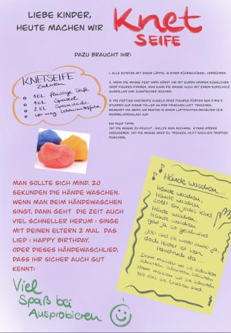 Kindergarten-Tipp vom 06.04.2020, Knetseife