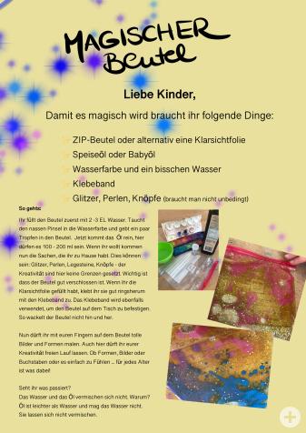 Kindergarten-Tipp vom 29.04.2020, Der Magische Beutel