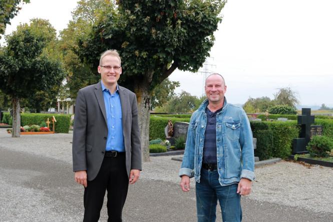 Markus Rieker unterstützt Bauhof